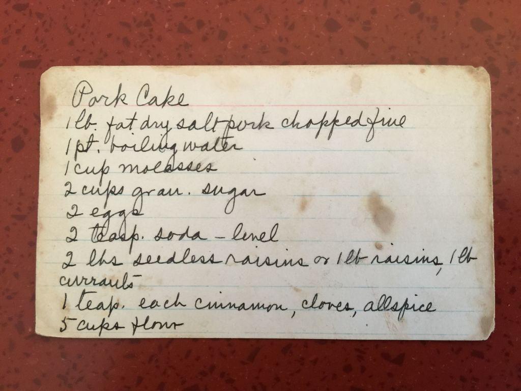 Pork Cake or Persimmon: Women's Stories Evolve