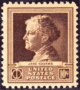 Jane Addams 1940 Issue Stamp