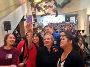 Madeleine Albright Selfie
