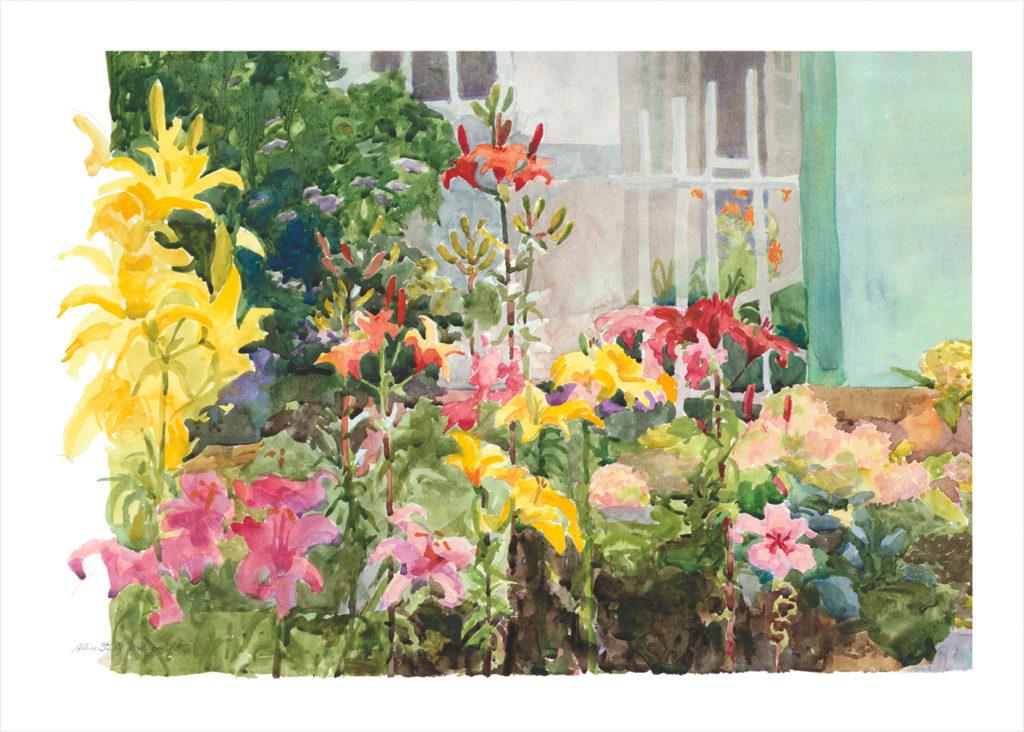 Spring Lilies Evoke Energy of Gratitude